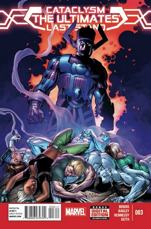 Cover of Cataclysm: Ultimates Last Stand (2013 Ltd) #3. One of 250,000 Vintage American Comics on sale from Krypton!