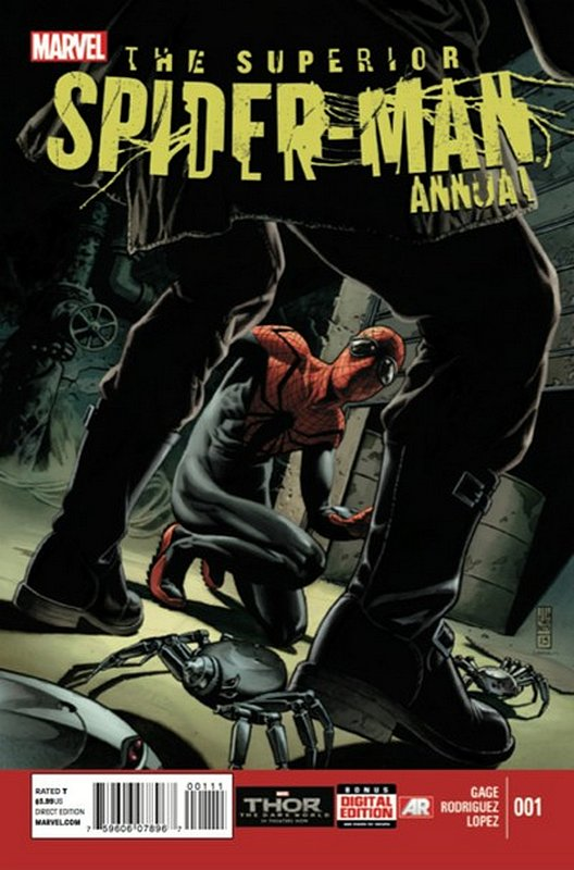 Cover of Superior Spider-Man Annual (Vol 1) #1. One of 250,000 Vintage American Comics on sale from Krypton!