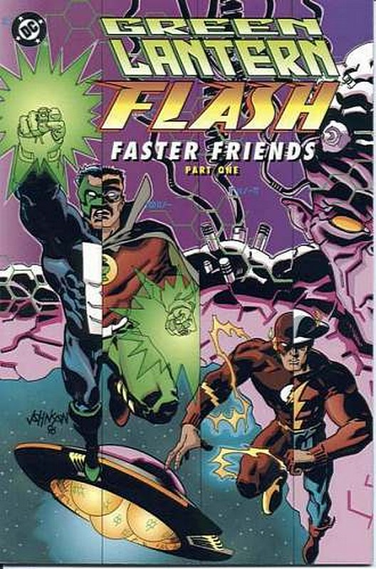 Cover of Green Lantern/Flash: Faster Friends #1. One of 250,000 Vintage American Comics on sale from Krypton!