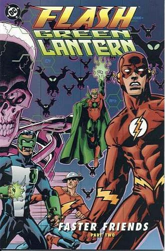 Cover of Green Lantern/Flash: Faster Friends #2. One of 250,000 Vintage American Comics on sale from Krypton!