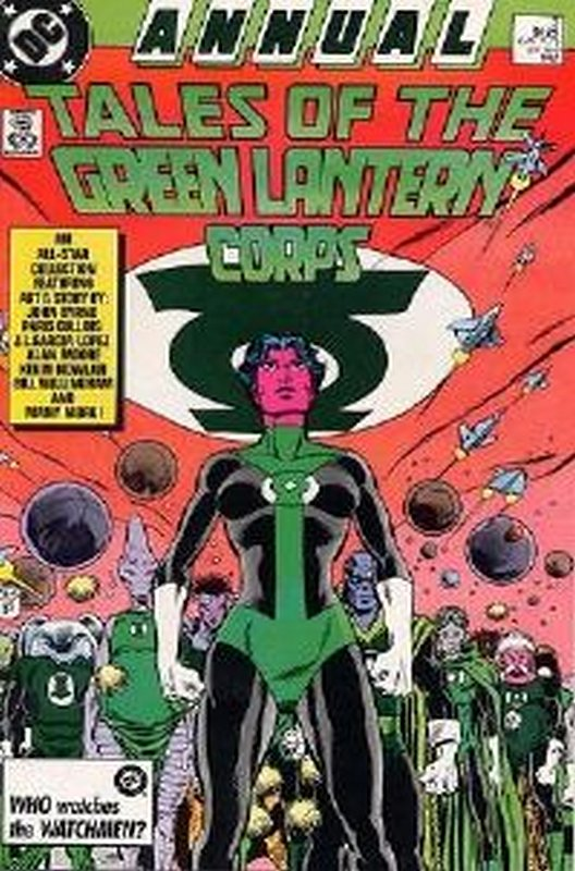 Cover of Green Lantern Corps Annual, Tales of the #3. One of 250,000 Vintage American Comics on sale from Krypton!