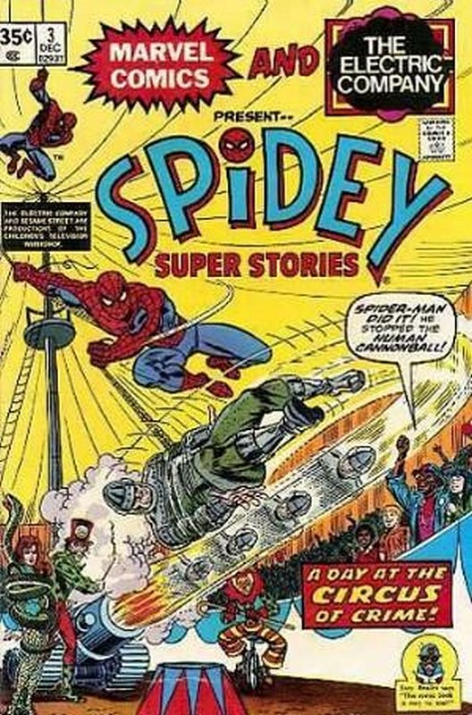 Cover of Spidey Super Stories (Vol 1) #3. One of 250,000 Vintage American Comics on sale from Krypton!