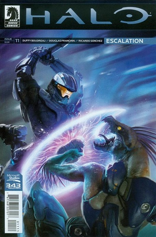 Cover of Halo: Escalation (Vol 1) #11. One of 250,000 Vintage American Comics on sale from Krypton!