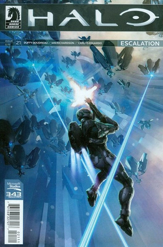 Cover of Halo: Escalation (Vol 1) #21. One of 250,000 Vintage American Comics on sale from Krypton!