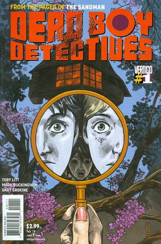 Cover of Dead Boy Detectives (Vol 1) #1. One of 250,000 Vintage American Comics on sale from Krypton!