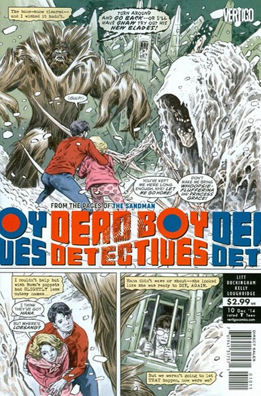 Cover of Dead Boy Detectives (Vol 1) #10. One of 250,000 Vintage American Comics on sale from Krypton!