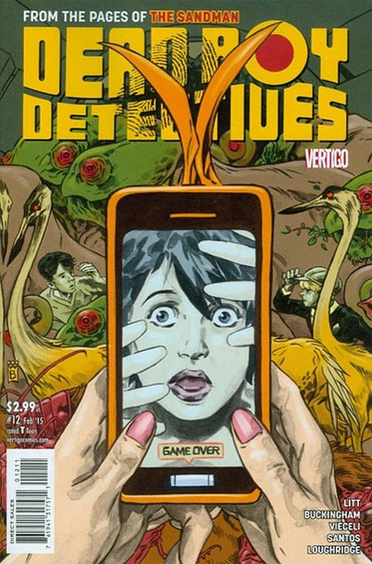 Cover of Dead Boy Detectives (Vol 1) #12. One of 250,000 Vintage American Comics on sale from Krypton!