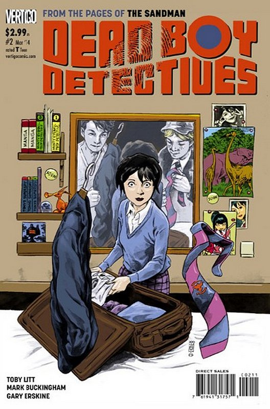 Cover of Dead Boy Detectives (Vol 1) #2. One of 250,000 Vintage American Comics on sale from Krypton!