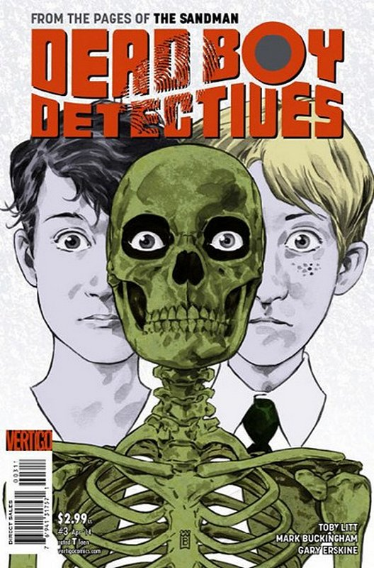 Cover of Dead Boy Detectives (Vol 1) #3. One of 250,000 Vintage American Comics on sale from Krypton!