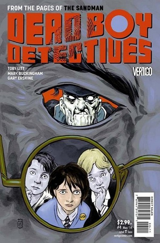 Cover of Dead Boy Detectives (Vol 1) #4. One of 250,000 Vintage American Comics on sale from Krypton!