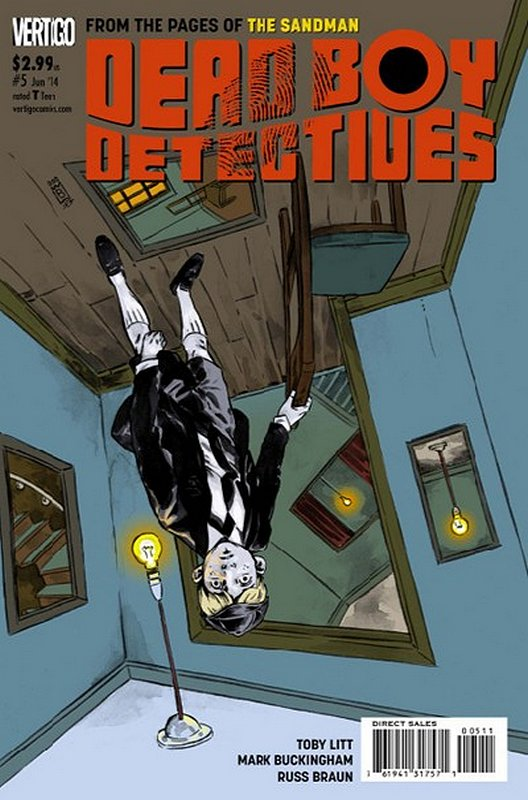 Cover of Dead Boy Detectives (Vol 1) #5. One of 250,000 Vintage American Comics on sale from Krypton!