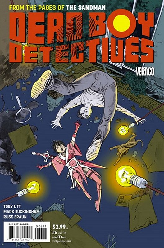 Cover of Dead Boy Detectives (Vol 1) #6. One of 250,000 Vintage American Comics on sale from Krypton!