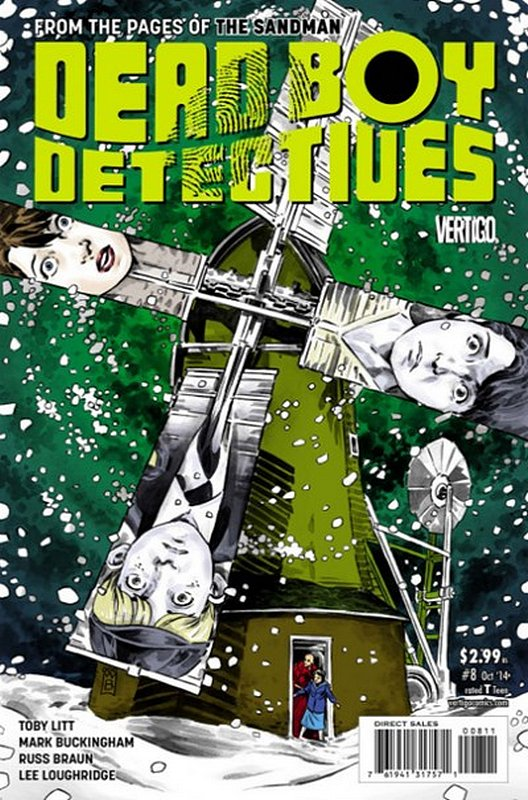 Cover of Dead Boy Detectives (Vol 1) #8. One of 250,000 Vintage American Comics on sale from Krypton!