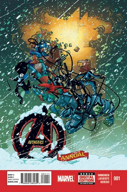 Cover of Avengers Annual (2013) #1. One of 250,000 Vintage American Comics on sale from Krypton!