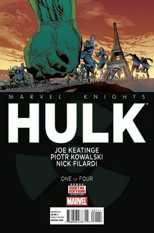 Cover of Marvel Knights: Hulk (2013 Ltd) #1. One of 250,000 Vintage American Comics on sale from Krypton!