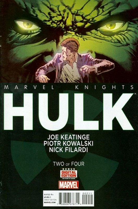 Cover of Marvel Knights: Hulk (2013 Ltd) #2. One of 250,000 Vintage American Comics on sale from Krypton!