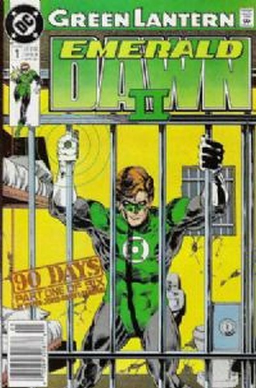 Cover of Green Lantern: Emerald Dawn II (1991 Ltd) #1. One of 250,000 Vintage American Comics on sale from Krypton!