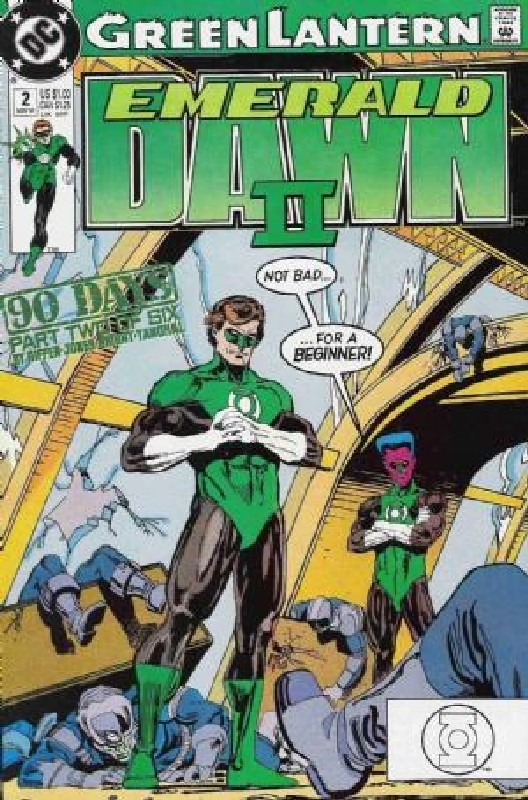 Cover of Green Lantern: Emerald Dawn II (1991 Ltd) #2. One of 250,000 Vintage American Comics on sale from Krypton!