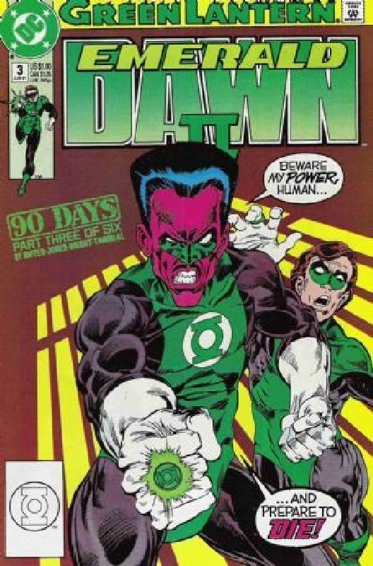 Cover of Green Lantern: Emerald Dawn II (1991 Ltd) #3. One of 250,000 Vintage American Comics on sale from Krypton!