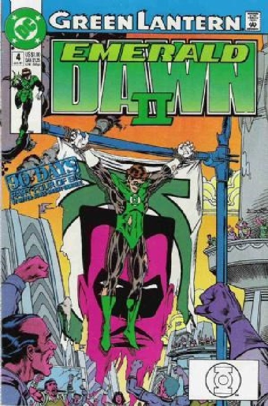 Cover of Green Lantern: Emerald Dawn II (1991 Ltd) #4. One of 250,000 Vintage American Comics on sale from Krypton!