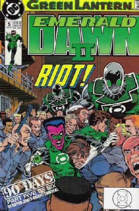 Cover of Green Lantern: Emerald Dawn II (1991 Ltd) #5. One of 250,000 Vintage American Comics on sale from Krypton!