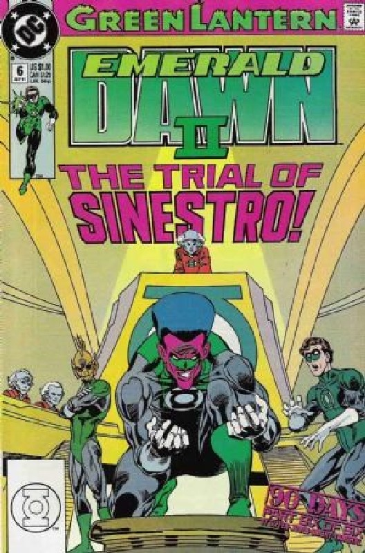 Cover of Green Lantern: Emerald Dawn II (1991 Ltd) #6. One of 250,000 Vintage American Comics on sale from Krypton!