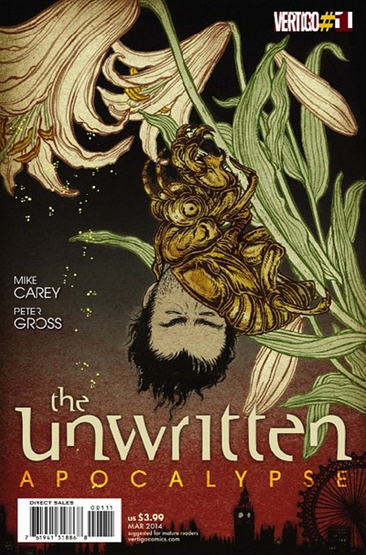 Cover of Unwritten (Vol 2) Apocalypse #1. One of 250,000 Vintage American Comics on sale from Krypton!