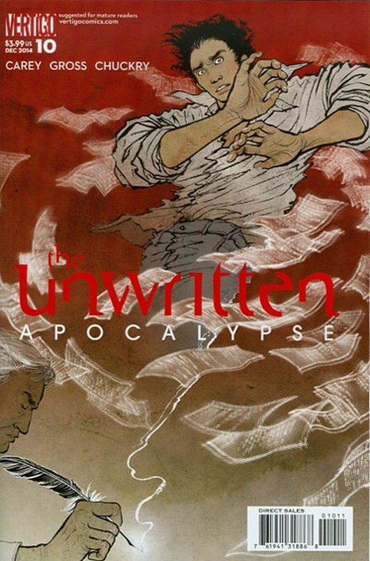 Cover of Unwritten (Vol 2) Apocalypse #10. One of 250,000 Vintage American Comics on sale from Krypton!