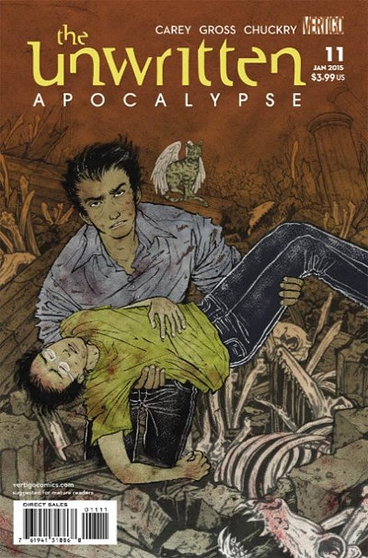 Cover of Unwritten (Vol 2) Apocalypse #11. One of 250,000 Vintage American Comics on sale from Krypton!