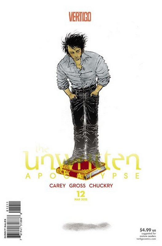 Cover of Unwritten (Vol 2) Apocalypse #12. One of 250,000 Vintage American Comics on sale from Krypton!