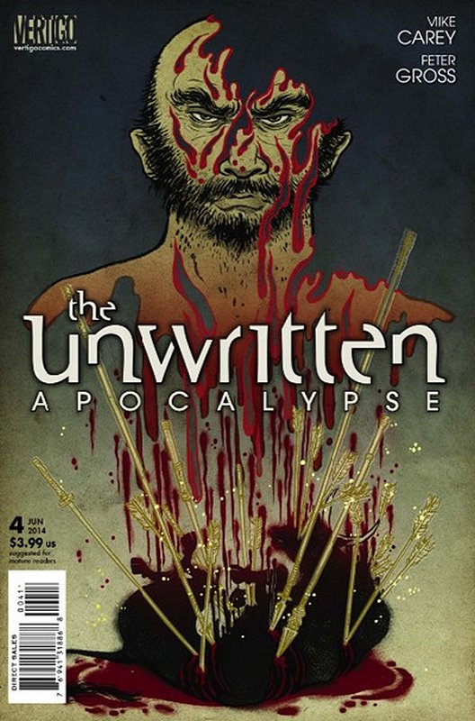 Cover of Unwritten (Vol 2) Apocalypse #4. One of 250,000 Vintage American Comics on sale from Krypton!