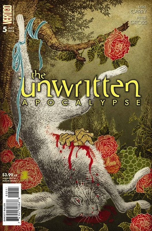 Cover of Unwritten (Vol 2) Apocalypse #5. One of 250,000 Vintage American Comics on sale from Krypton!