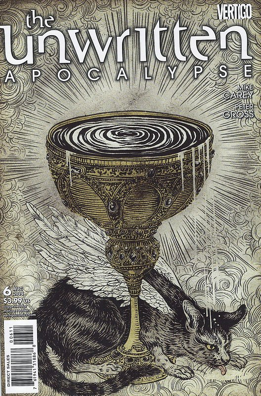 Cover of Unwritten (Vol 2) Apocalypse #6. One of 250,000 Vintage American Comics on sale from Krypton!