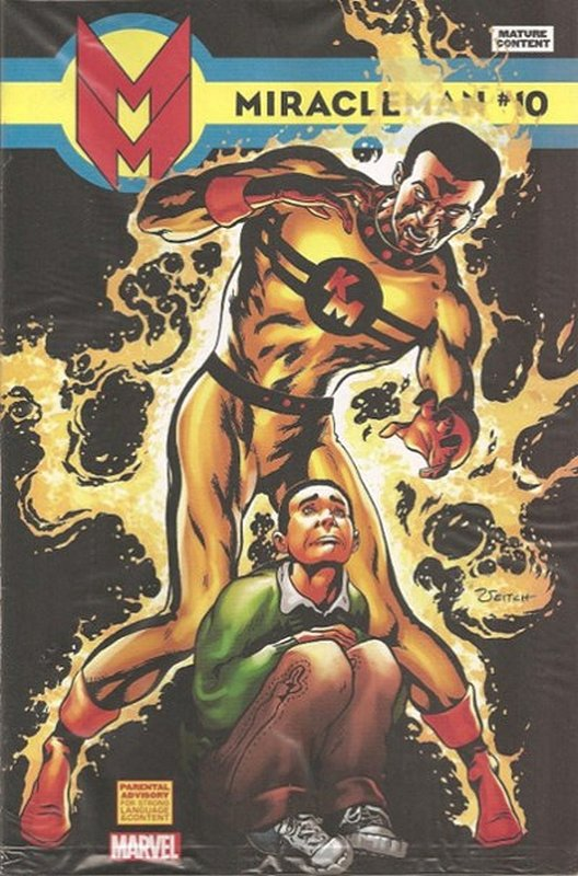 Cover of Miracleman (Marvel) (Vol 1) #10. One of 250,000 Vintage American Comics on sale from Krypton!