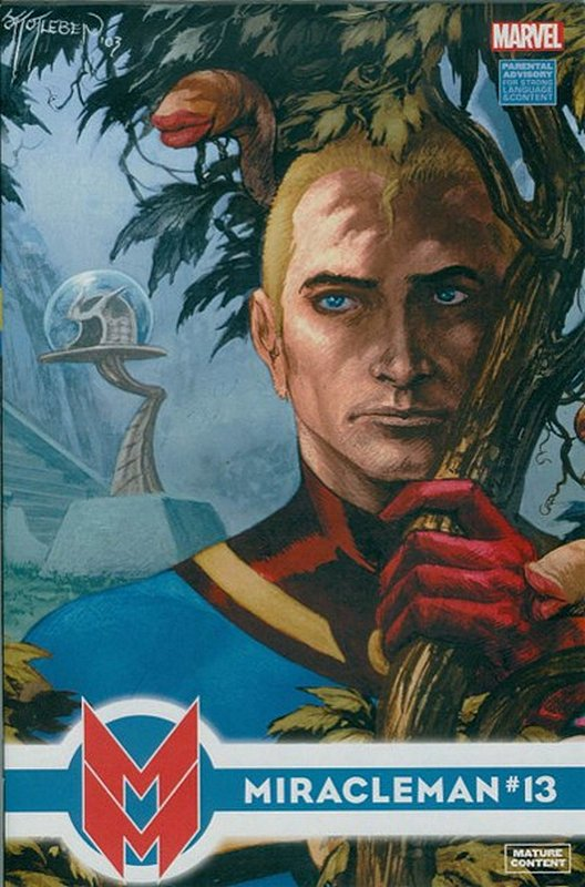 Cover of Miracleman (Marvel) (Vol 1) #13. One of 250,000 Vintage American Comics on sale from Krypton!