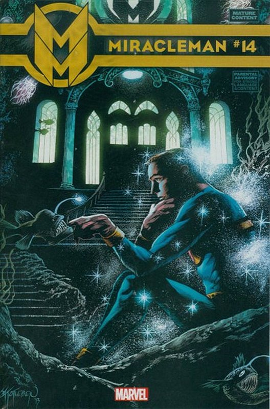 Cover of Miracleman (Marvel) (Vol 1) #14. One of 250,000 Vintage American Comics on sale from Krypton!