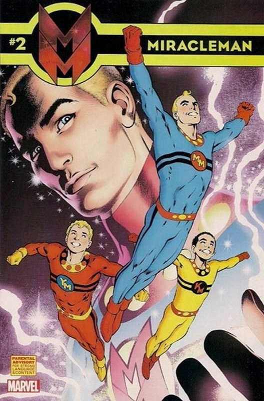 Cover of Miracleman (Marvel) (Vol 1) #2. One of 250,000 Vintage American Comics on sale from Krypton!