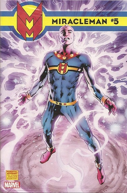 Cover of Miracleman (Marvel) (Vol 1) #5. One of 250,000 Vintage American Comics on sale from Krypton!