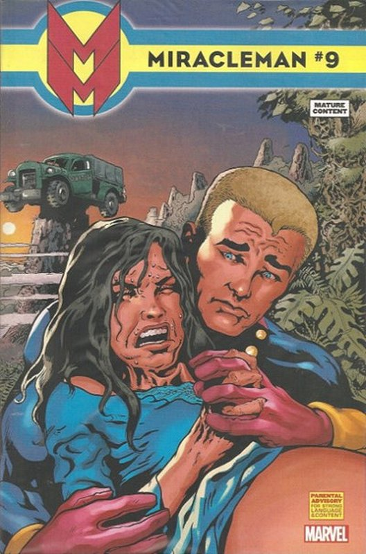 Cover of Miracleman (Marvel) (Vol 1) #9. One of 250,000 Vintage American Comics on sale from Krypton!
