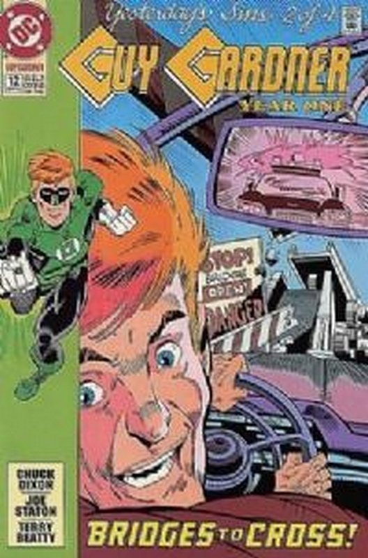 Cover of Guy Gardner (Vol 1) #12. One of 250,000 Vintage American Comics on sale from Krypton!