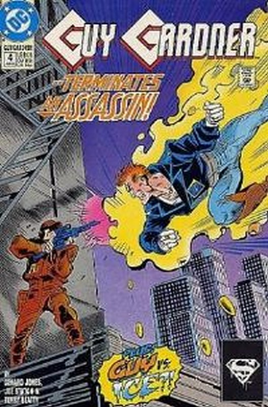 Cover of Guy Gardner (Vol 1) #4. One of 250,000 Vintage American Comics on sale from Krypton!