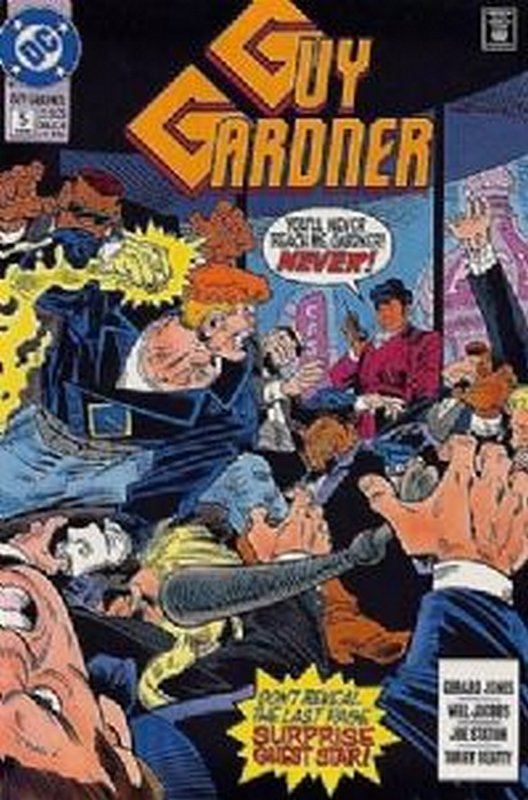 Cover of Guy Gardner (Vol 1) #5. One of 250,000 Vintage American Comics on sale from Krypton!
