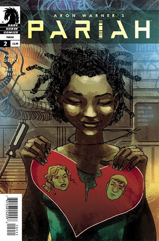 Cover of Pariah (2014 Ltd) #2. One of 250,000 Vintage American Comics on sale from Krypton!