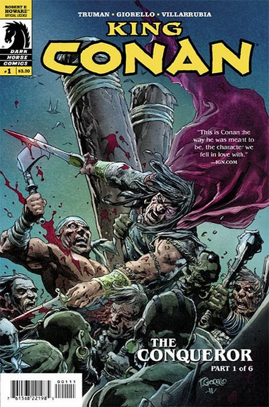 Cover of King Conan Conqueror (2014 Ltd) #1. One of 250,000 Vintage American Comics on sale from Krypton!