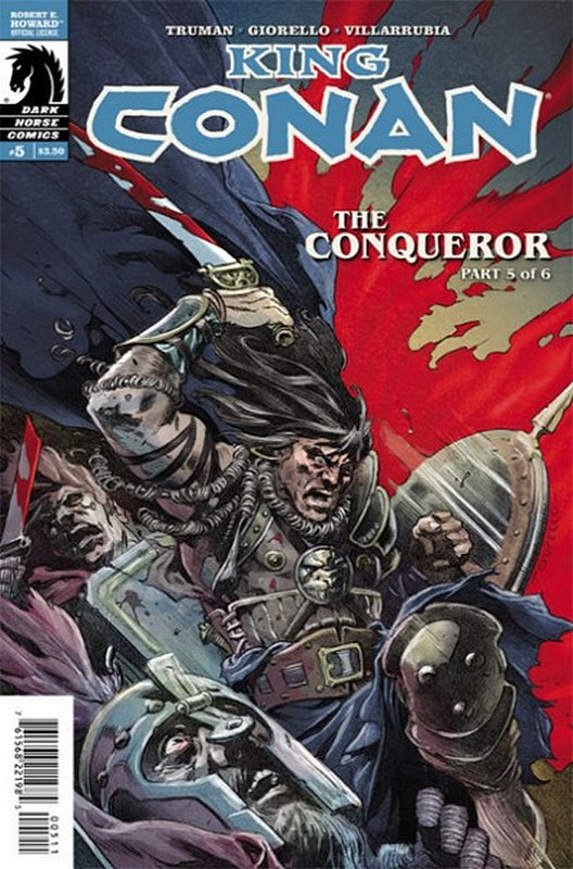 Cover of King Conan Conqueror (2014 Ltd) #5. One of 250,000 Vintage American Comics on sale from Krypton!