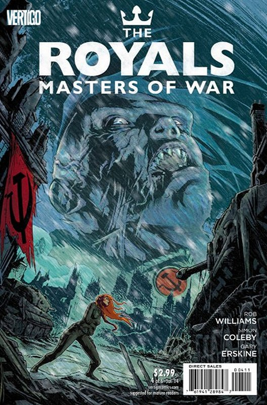 Cover of Royals: Masters of War (2014 Ltd) #4. One of 250,000 Vintage American Comics on sale from Krypton!