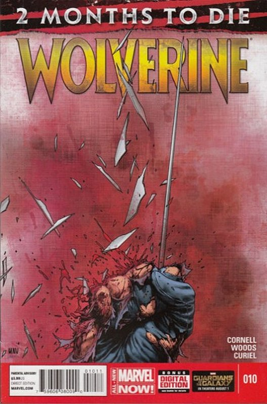 Cover of Wolverine (Vol 5) #10. One of 250,000 Vintage American Comics on sale from Krypton!
