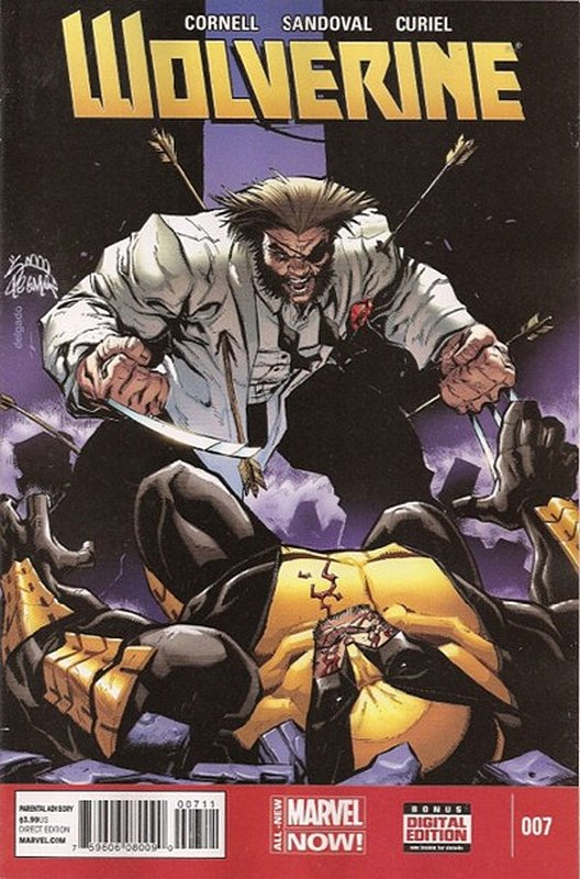 Cover of Wolverine (Vol 5) #7. One of 250,000 Vintage American Comics on sale from Krypton!