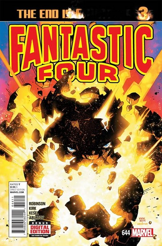 Cover of Fantastic Four (Vol 5) #644. One of 250,000 Vintage American Comics on sale from Krypton!