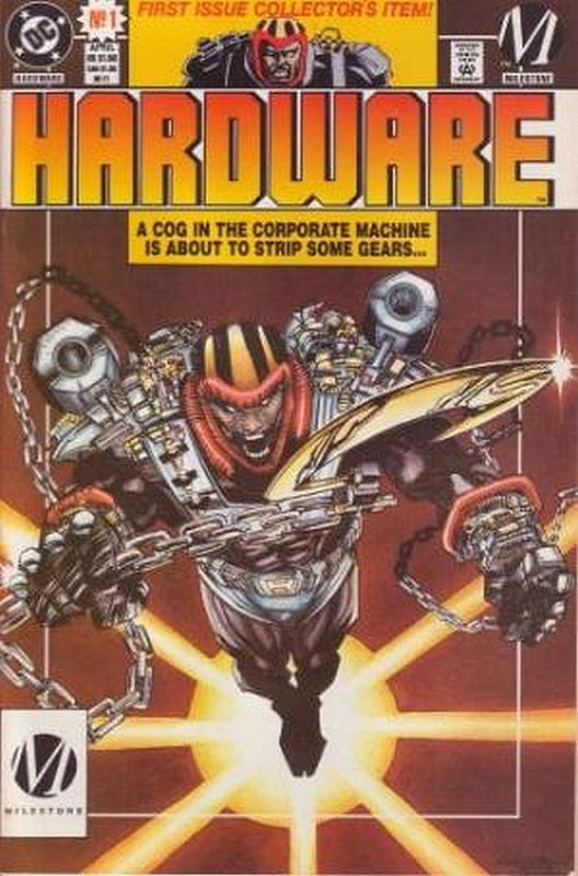 Cover of Hardware (Vol 1) #1. One of 250,000 Vintage American Comics on sale from Krypton!
